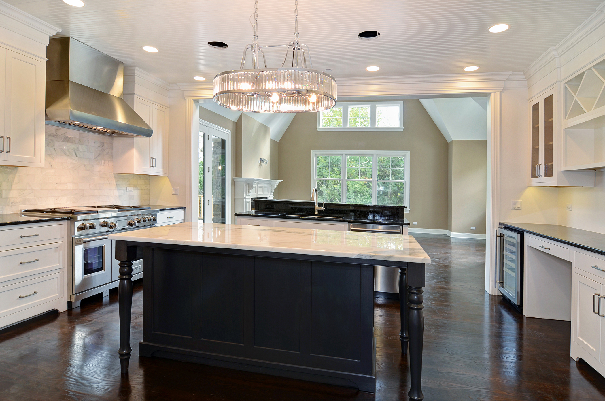 Rite-Way Kitchen with Opening to Dining Area