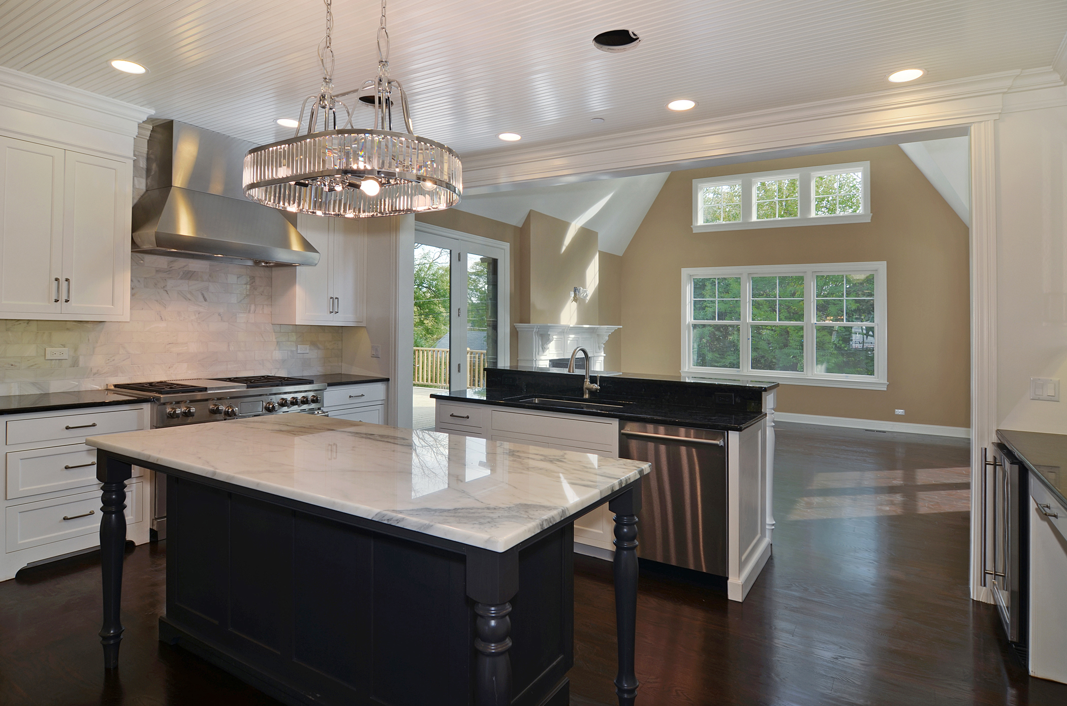 Rite-Way Kitchen with Opening into Dining Area