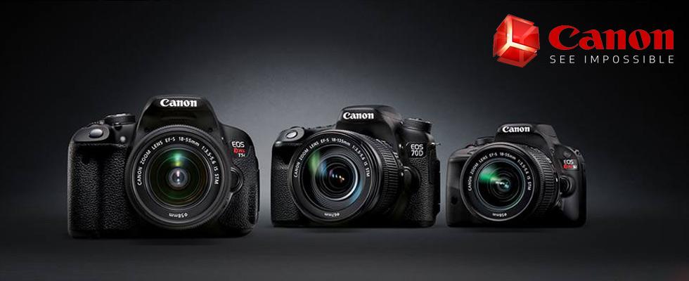 Canon DSLR Cameras, Camcorder & Accessories