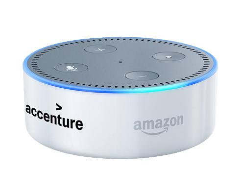 Accenture on Echo Dot