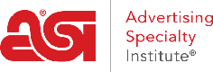 ASI - Advertising Specialty Institue®