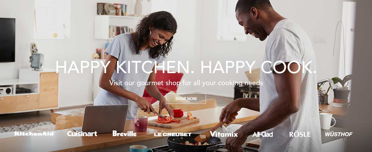 Happy Kitchen. Happy Cook. - Visit Our Gourmet Shop For All Your Cooking Needs