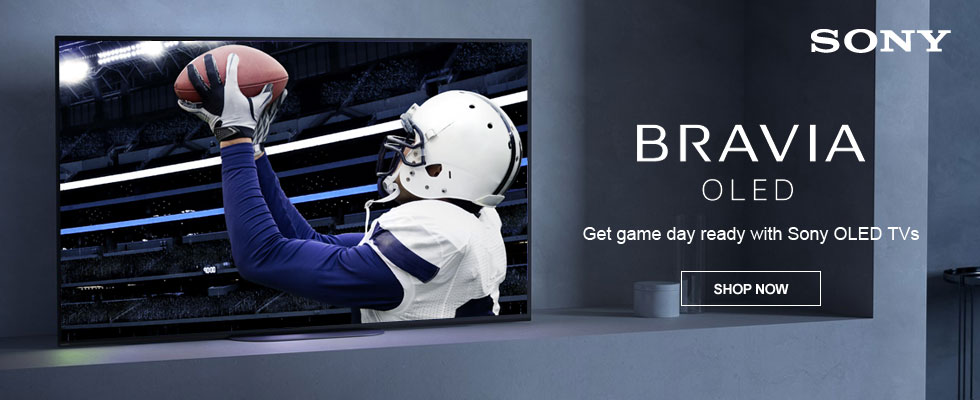 Get game day ready with Sony OLED TVs