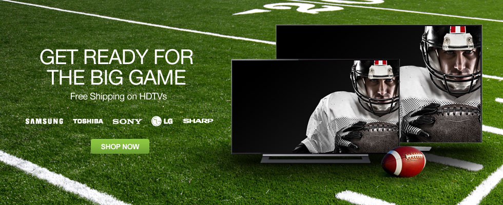 Save On HDTVs - Get Ready For The Big Game