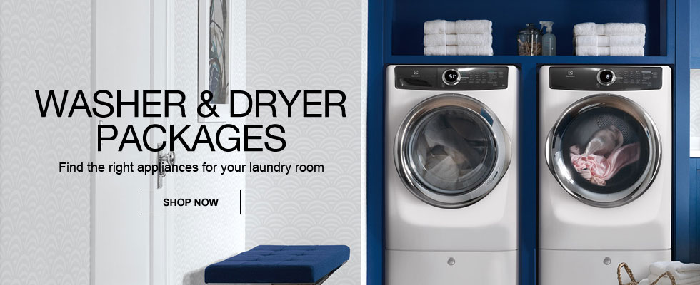Find The Right Washer & Dryer Package For Your Laundry Room