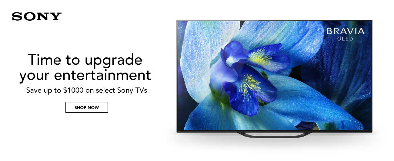 Save Up To $1000 On Select Sony TVs