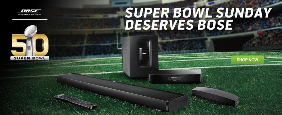 Super Bowl Sunday Deserves Bose