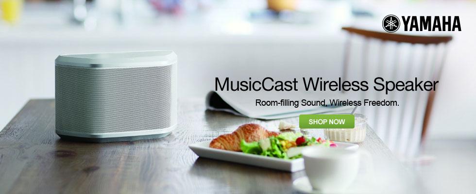 Yamaha MusicCast Wireless Speakers