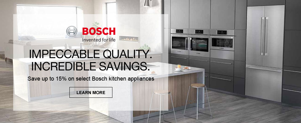 Save Up To 15% On Select Bosch Kitchen Appliances