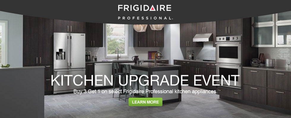 Buy 3 Get 1 On Select Frigidaire Professional Kitchen Appliances