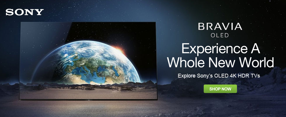 Experience A Whole New World - Sony OLED 4K HDR TVs