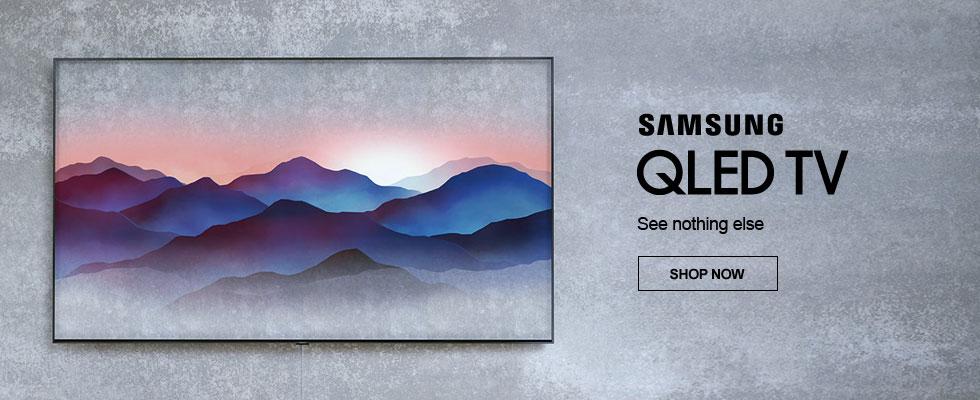 Samsung QLED TVs - See Nothing Else