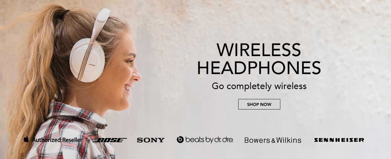 Wireless Headphones - Go Completely