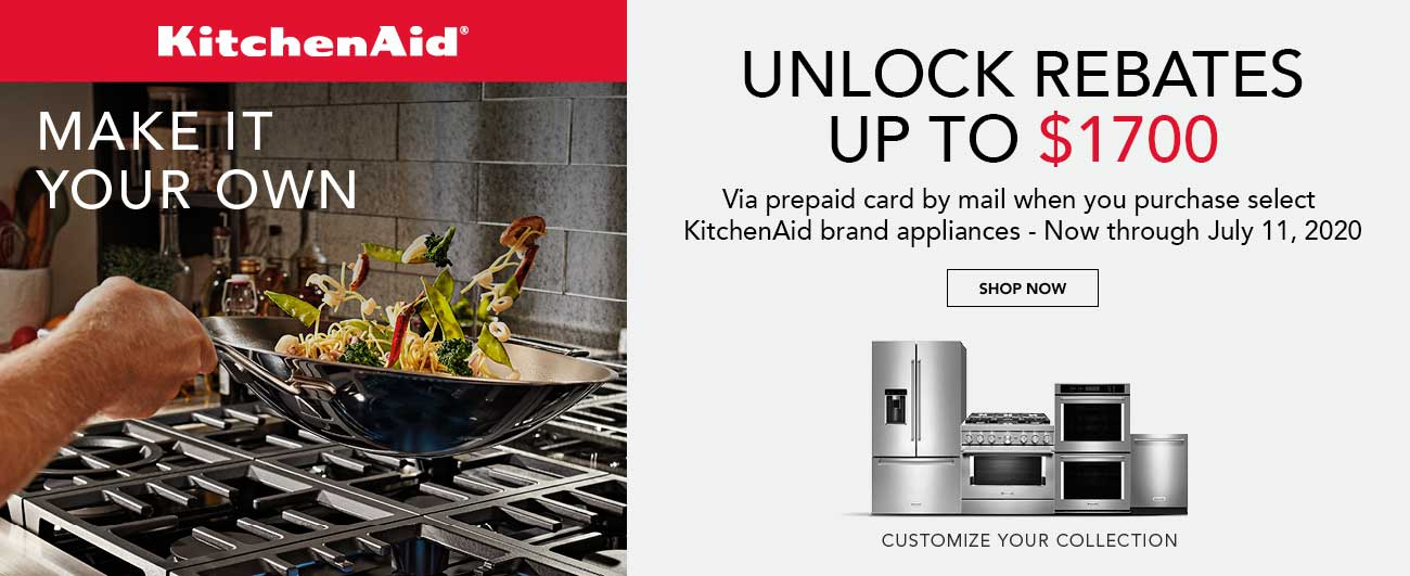 Save Up To $1700 On Select KitchenAid Brand Appliances