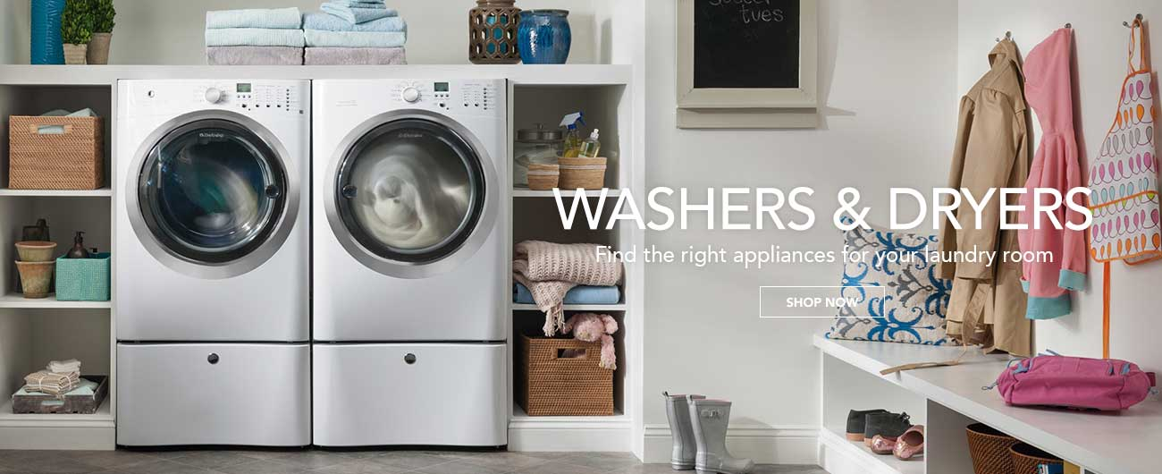 Washers And Dryers - Find the right appliances for your laundry room
