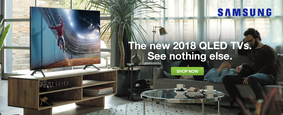 Samsung QLED TVs - See Nothing Else