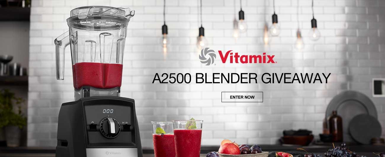 Vitamix A2500 Blender Giveaway