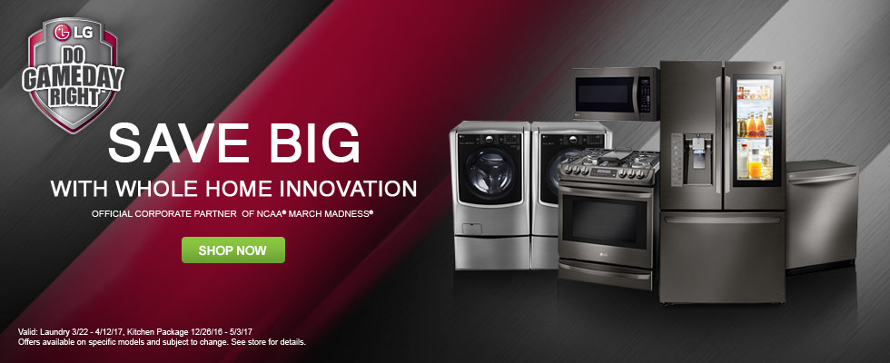 LG - Save Big With Whole Home Innovation