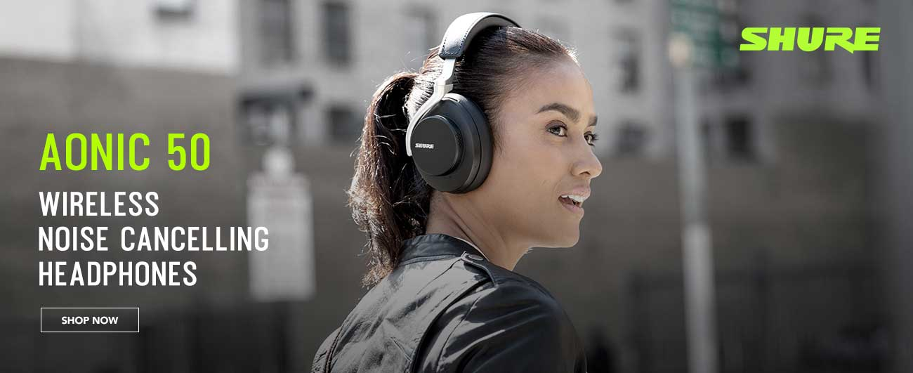 Shure Aonic 50 - Wireless Noise Cancelling Headphones