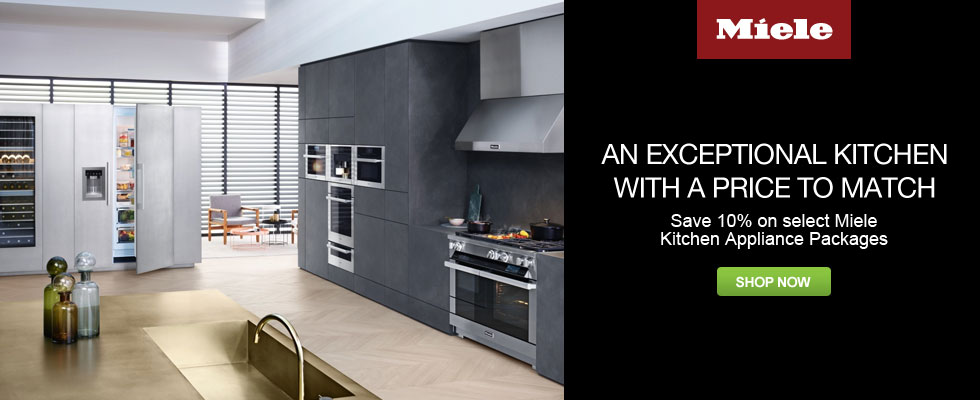 Save Up To 10% On Select Miele Kitchen Appliance Packages