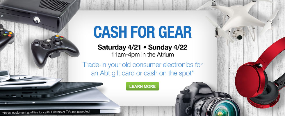 Trade-In Your Old Consumer Electronics For An Abt Gift Card