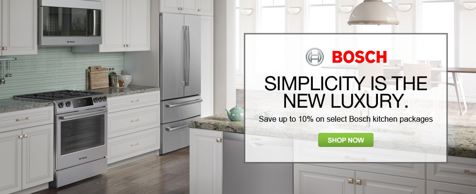 Save Up To 10% On Select Bosch Kitchen Appliances