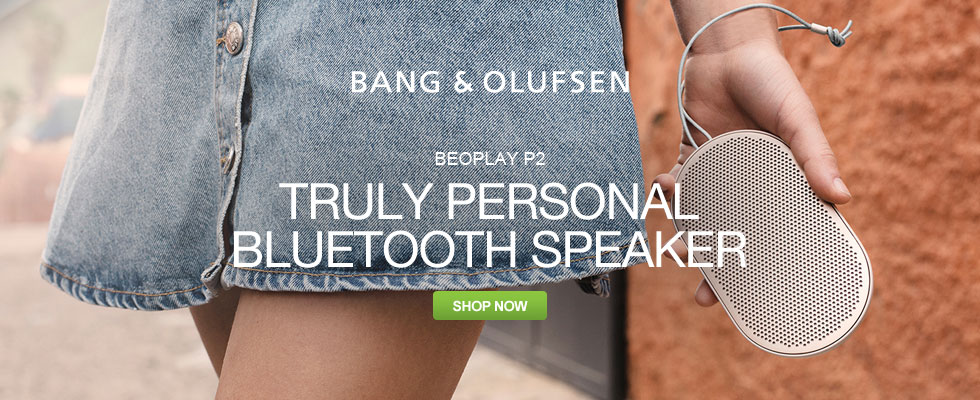 Bang & Olufsen BEOPLAY P2 - Truly Personal Bluetooth Speaker