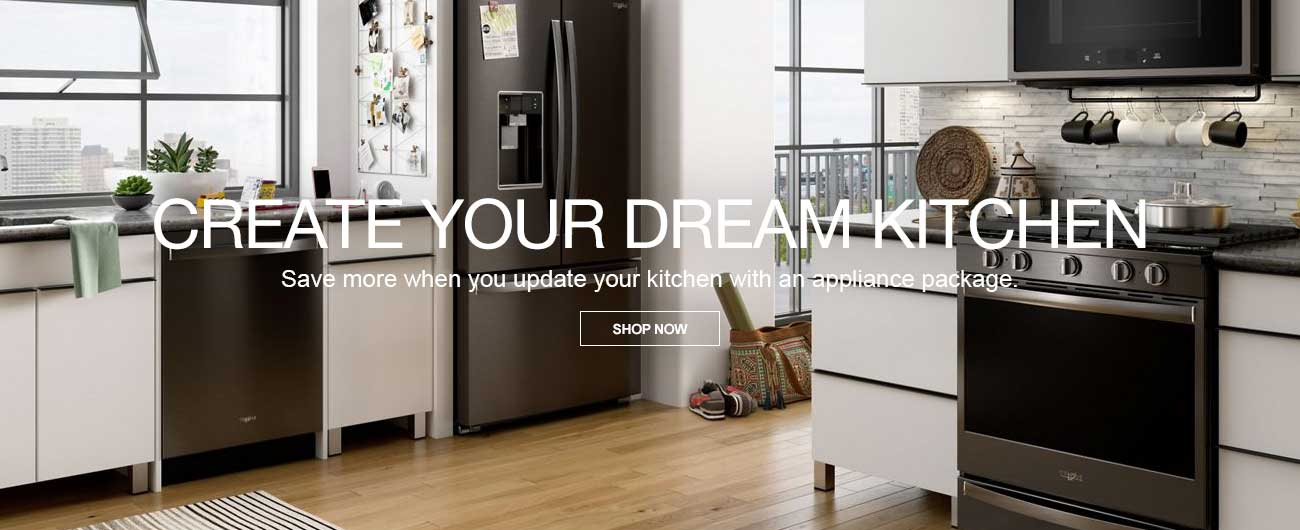 Kitchen Appliance Packages - Create Your Dream Kitchen
