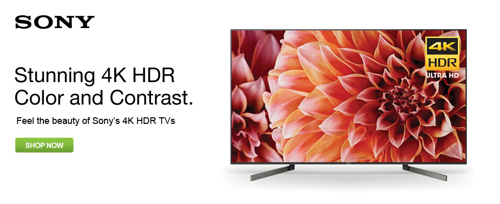 Feel The Beauty Of Sony's 4K HDR TVs