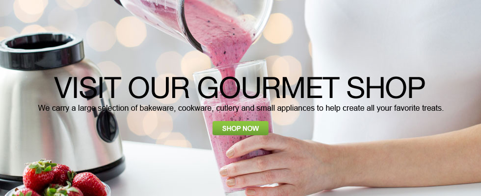 Visit Our Gourmet Shop For All Your Cooking Needs