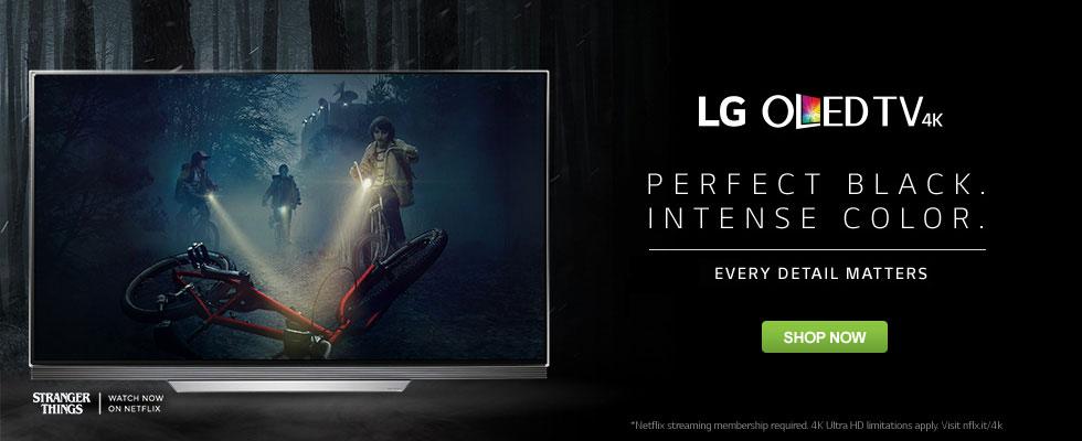 LG OLED TVs - Perfect Black. Intense Color.