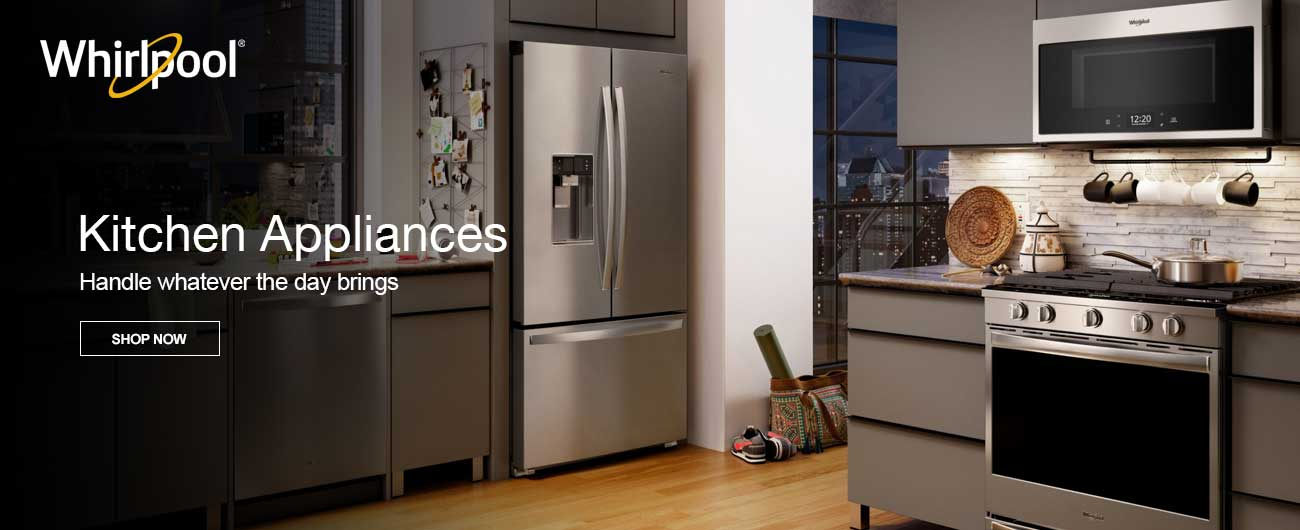 Whirlpool Kitchen Appliances - Handle Whatever The Day Brings