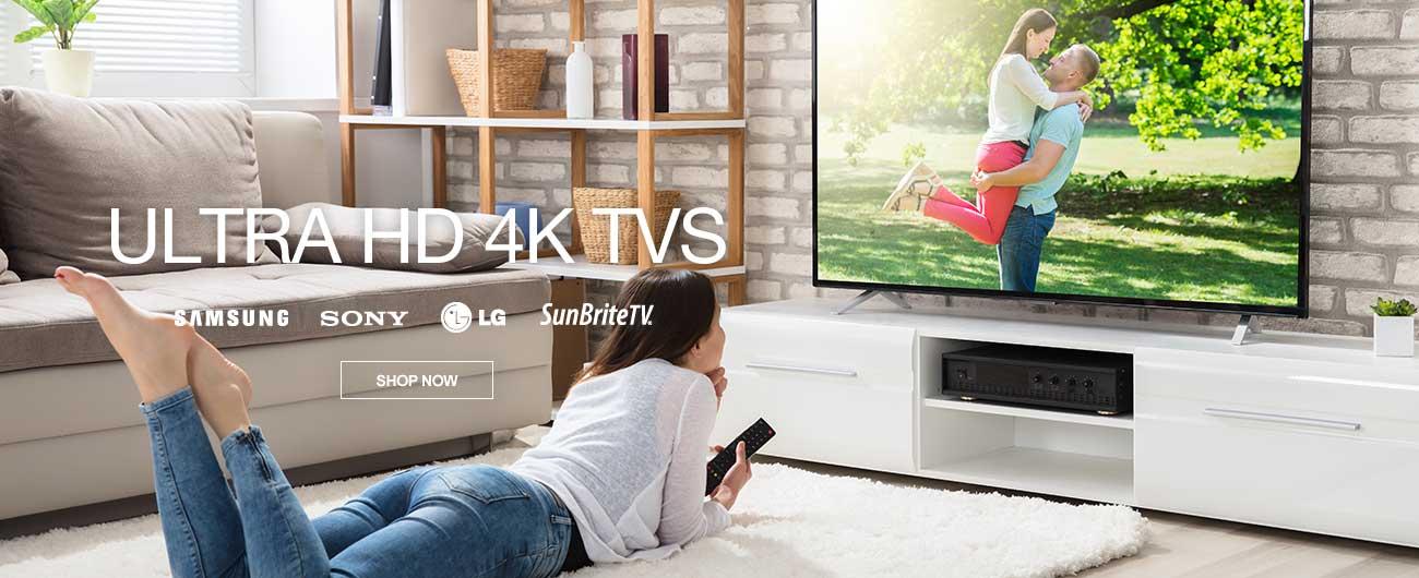 Save On Ultra HD 4K TVs