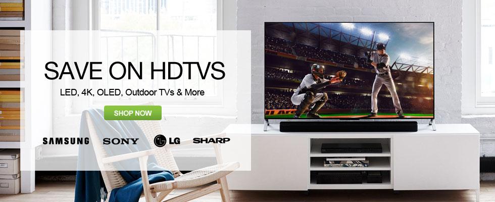 Save On HDTVs