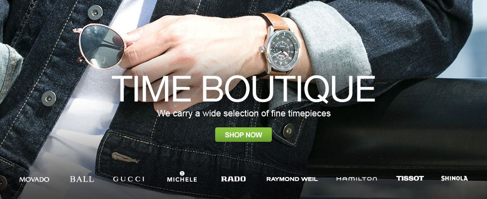 Time Boutique - We Carry A Wide Selection Of Fine Timepieces