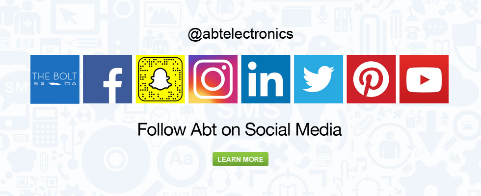 Follow Abt On Social Media