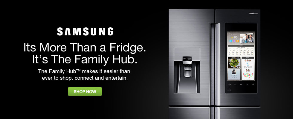 Samsung - Its More Than a Fridge. It's The Family Hub.