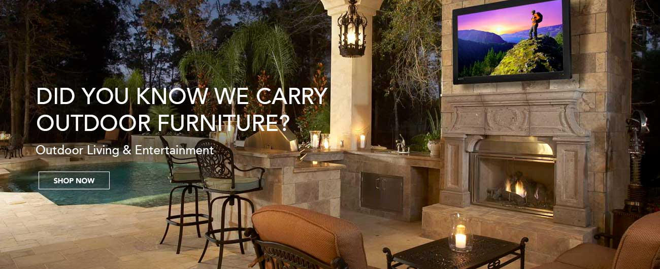 Did You Know We Carry Outdoor Furniture?