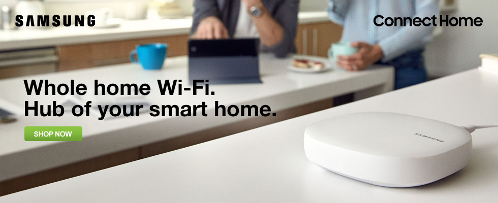 Samsung Connect Home - Whole Home WiFi. Hub Of Your Smart Home