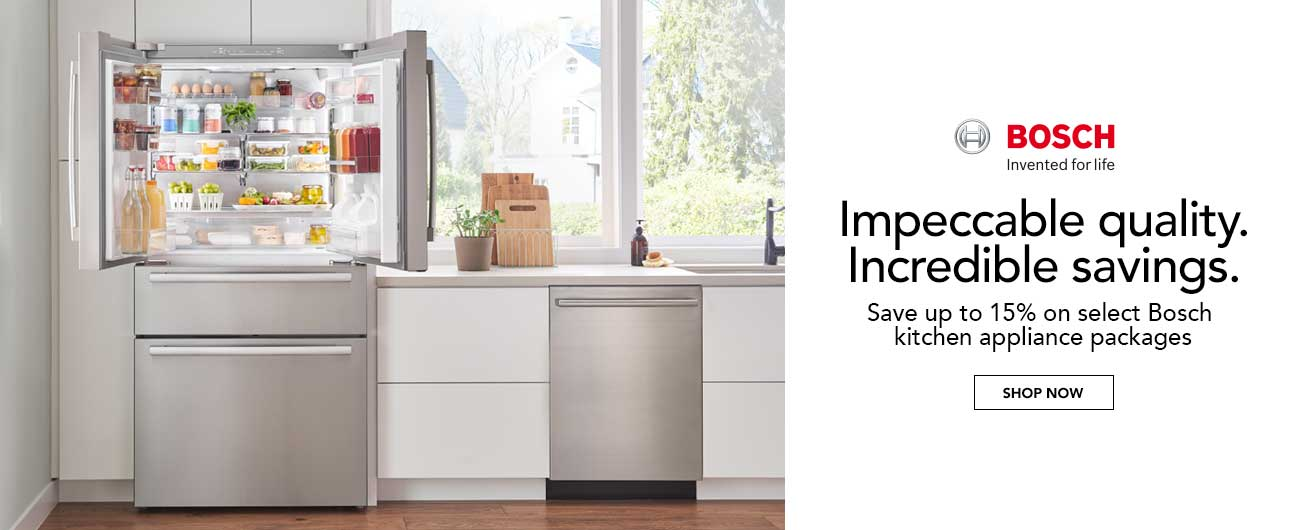 Save Up To 15% On Select Bosch Kitchen Appliance Packages