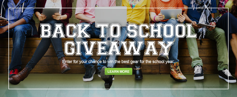 Back To School Giveaway - Enter For Your Chance To Win