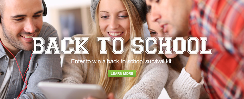 Back To School - Enter To Win A Back-To-School Survival Kit