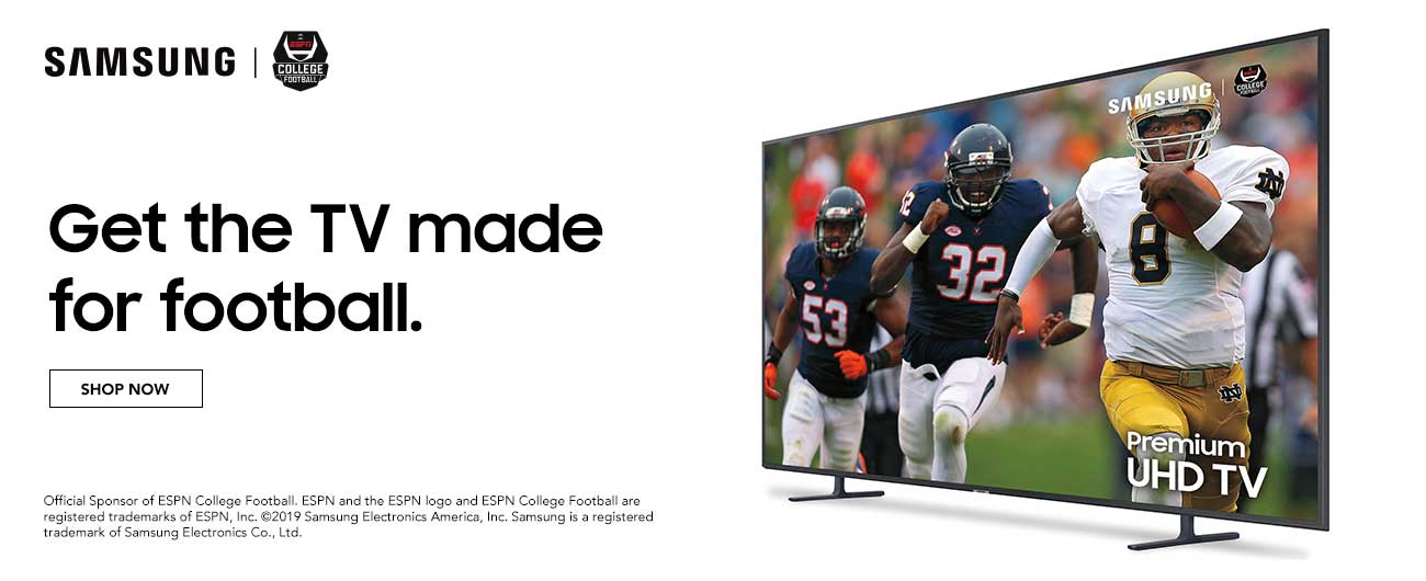 Samsung - Get The TV Made For Football