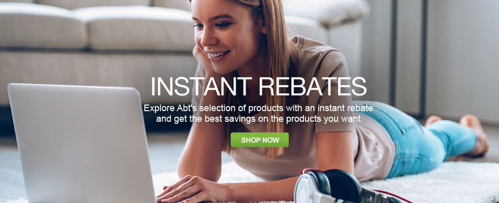 Instant Rebates - Save on the Products You Want