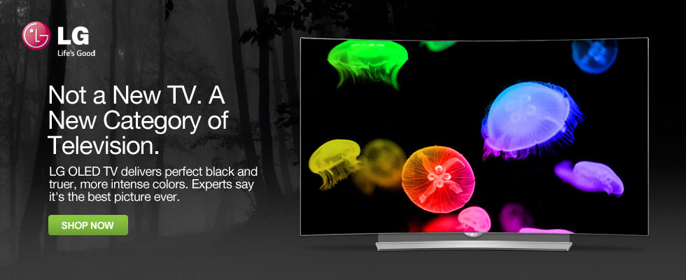 LG OLED TVs - Not a New TV. A New Category of Television.