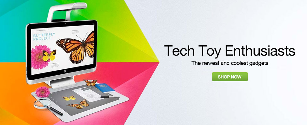 Tech Toy Enthusiasts - The Newest and Coolest Gadgets