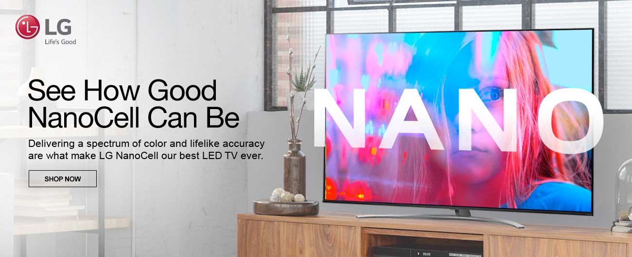 LG LED TVs - See How Good NanoCell Can Be