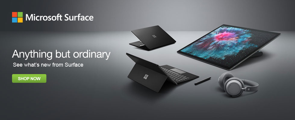 Anything But Ordinary - See What's New From Microsoft Surface