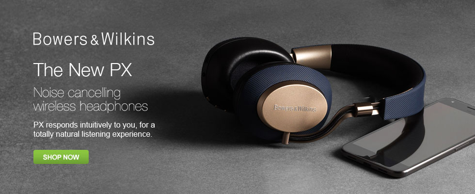 Bowers & Wilkins - The New PX Noise Cancelling Wireless Headphones