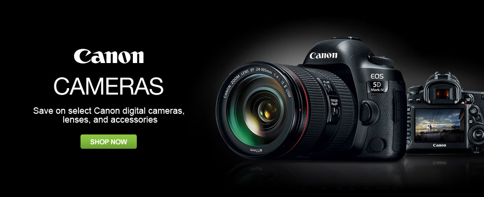 Save on Canon Cameras & Camcorders
